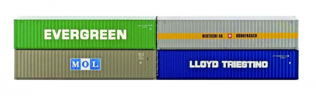 40' Container Set 4-tlg.