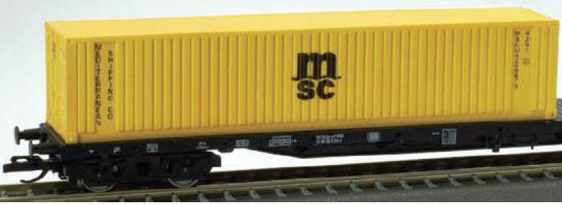 Container 'MSC' 40 lábas