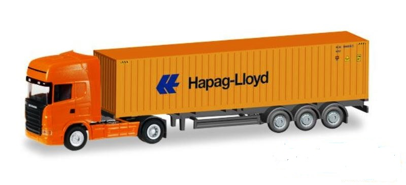 Scania R TL Container-Sattelzug 'Hapag Lloyd'