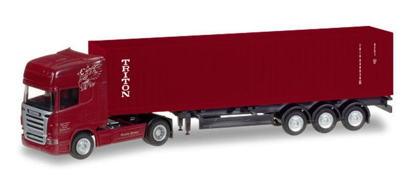 Scania R TL Container-Sattelzug